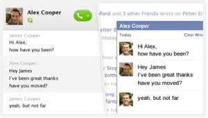 Skype Facebook integration