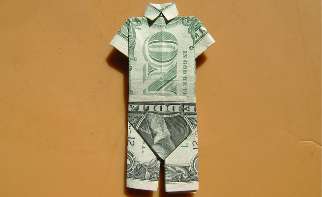 dollar suit