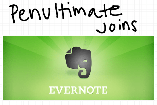 evernote acquires penultimate