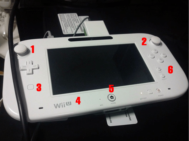 the new updated wii u tablet controller