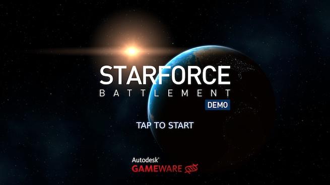 Starforce Battlement with Scaleform