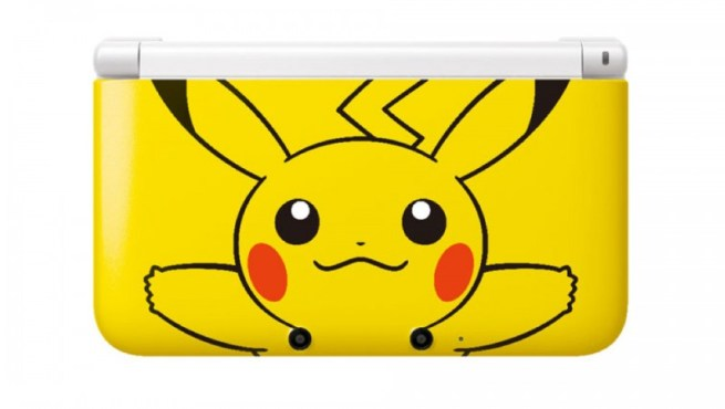 The Japanese-only Pikachu 3DS LL