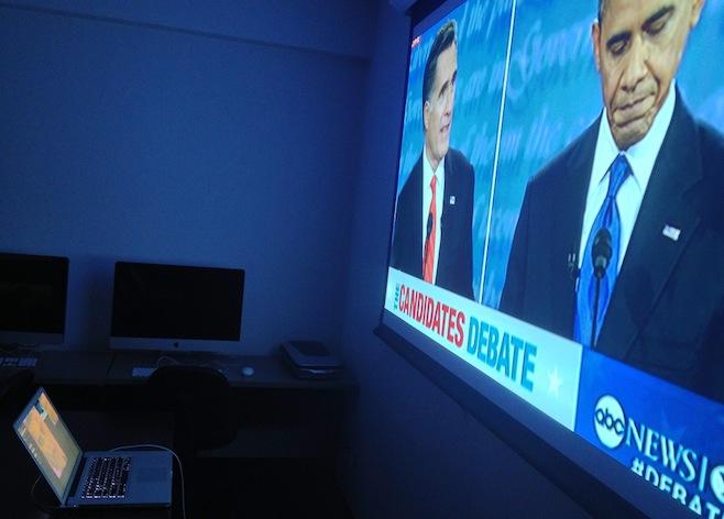 presidential debate computer