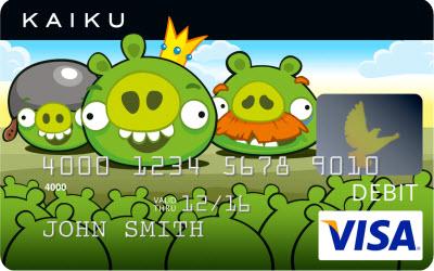 Get Your Very Own Angry Birds Visa Debit Card GamesBeat