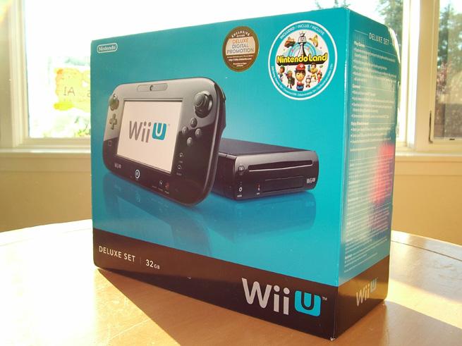 Wii U 32GB Deluxe Set