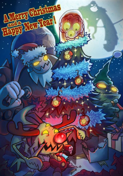 The Video Game Industrys 2012 Holiday Cards VentureBeat