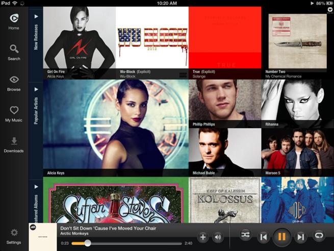 Rhapsody-iPad