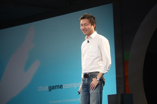 Blockchain: Jenova Chen is cofounder of Thatgamecompany, creator of games like Journey, Flower, Flow, and Sky.