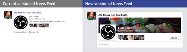 News Feed Page Like