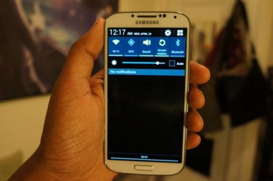galaxy S4 touchwiz notification