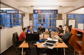 Startups working at White Bear Yard