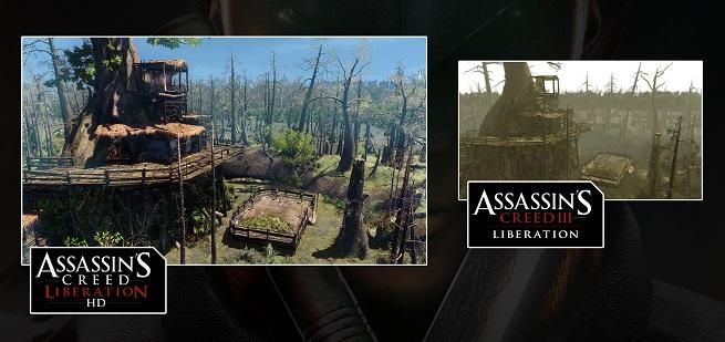 Assassin's Creed Liberation HD Comparison