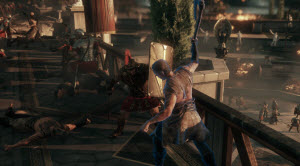 Combat is bloody and fierce in Ryse