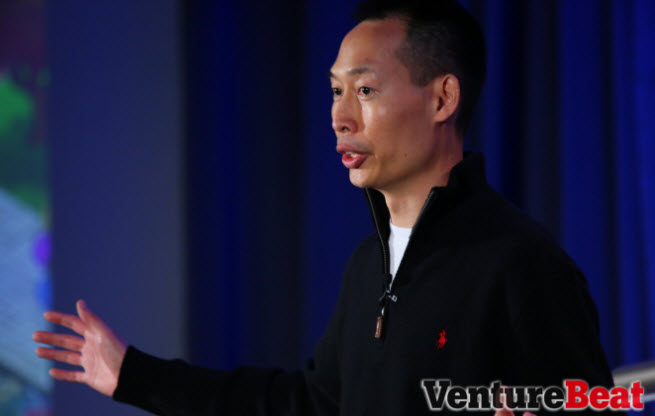 Pixelberry CEO Oliver Miao. by Michael O'Donnell/Venturebeat