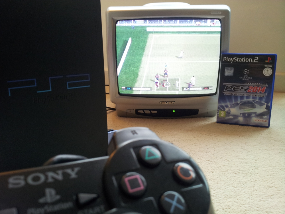 It feels good to take the PS2 out for a spin