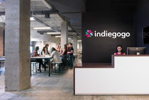 Indiegogo's offices in San Francisco
