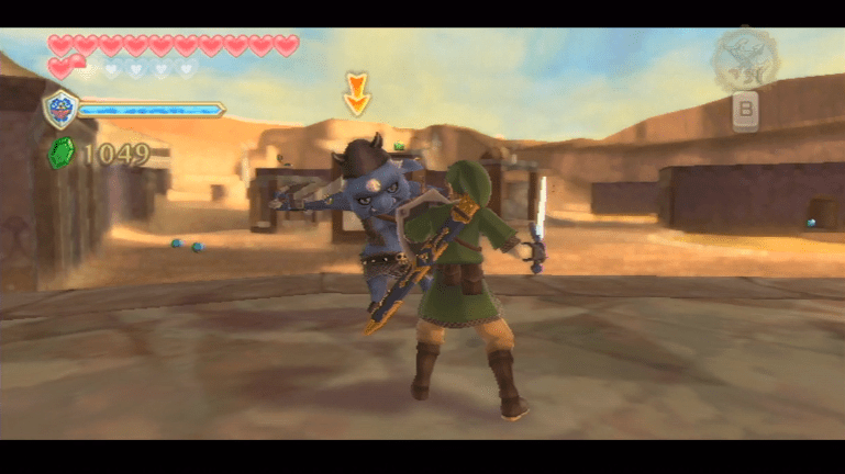 Skyward Sword Desert resized