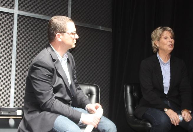Xbox Entertainment Studios chiefs Jordan Levin and Nancy Tellem