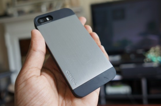 Logitech's Case+ on an iPhone 5S