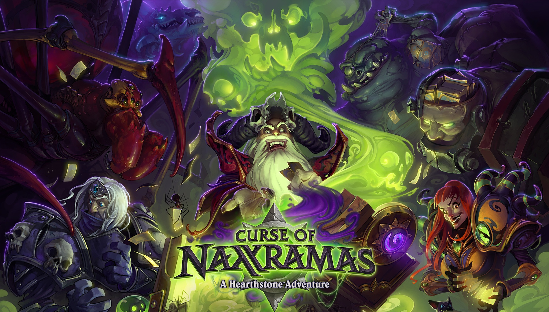 Curse of Naxxramas is rolling out now.