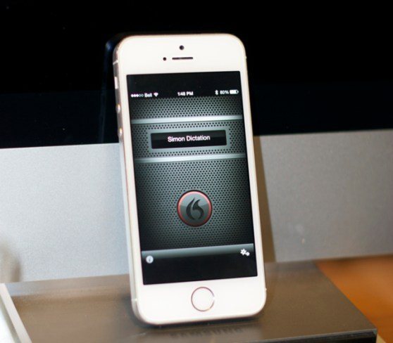 Nuance's Dragon Remote Mic app for iOS