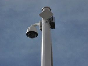 Firetide-based mesh network camera