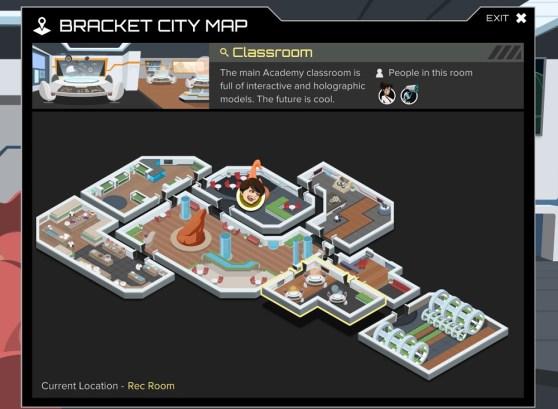 Argubot Academy map