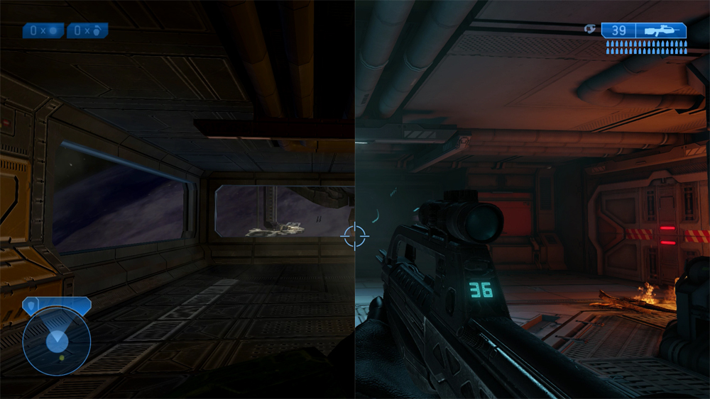 Image result for halo master chief collection official side by side