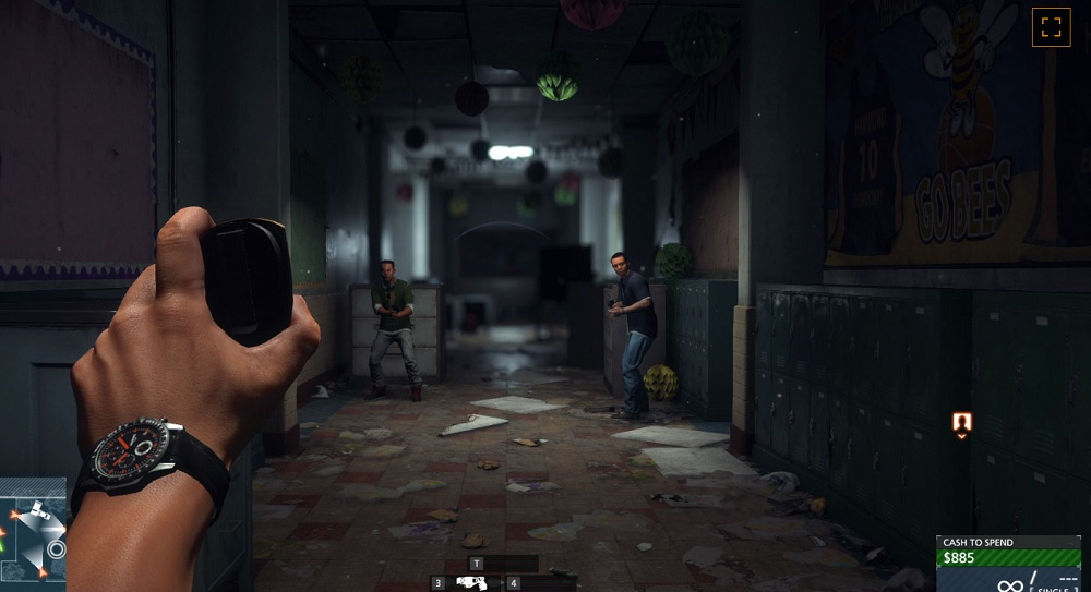 """You can make bad guys """"freeze"""" with your badge and then cuff them in Battlefield Hardline."""