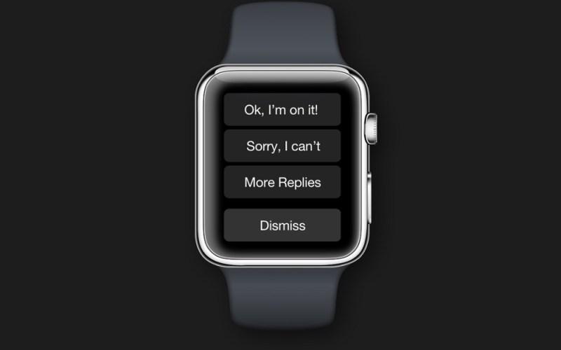 Awear's Apple Watch app