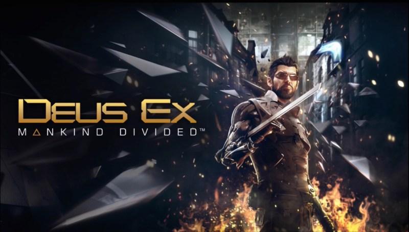 Adam Jensen is the augmented hero in Deus Ex: Mankind Divided.