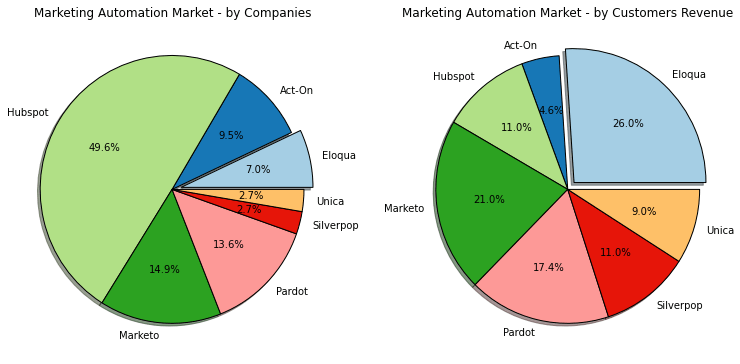 IBM's Unica and Silverpop products have significant B2B penetration