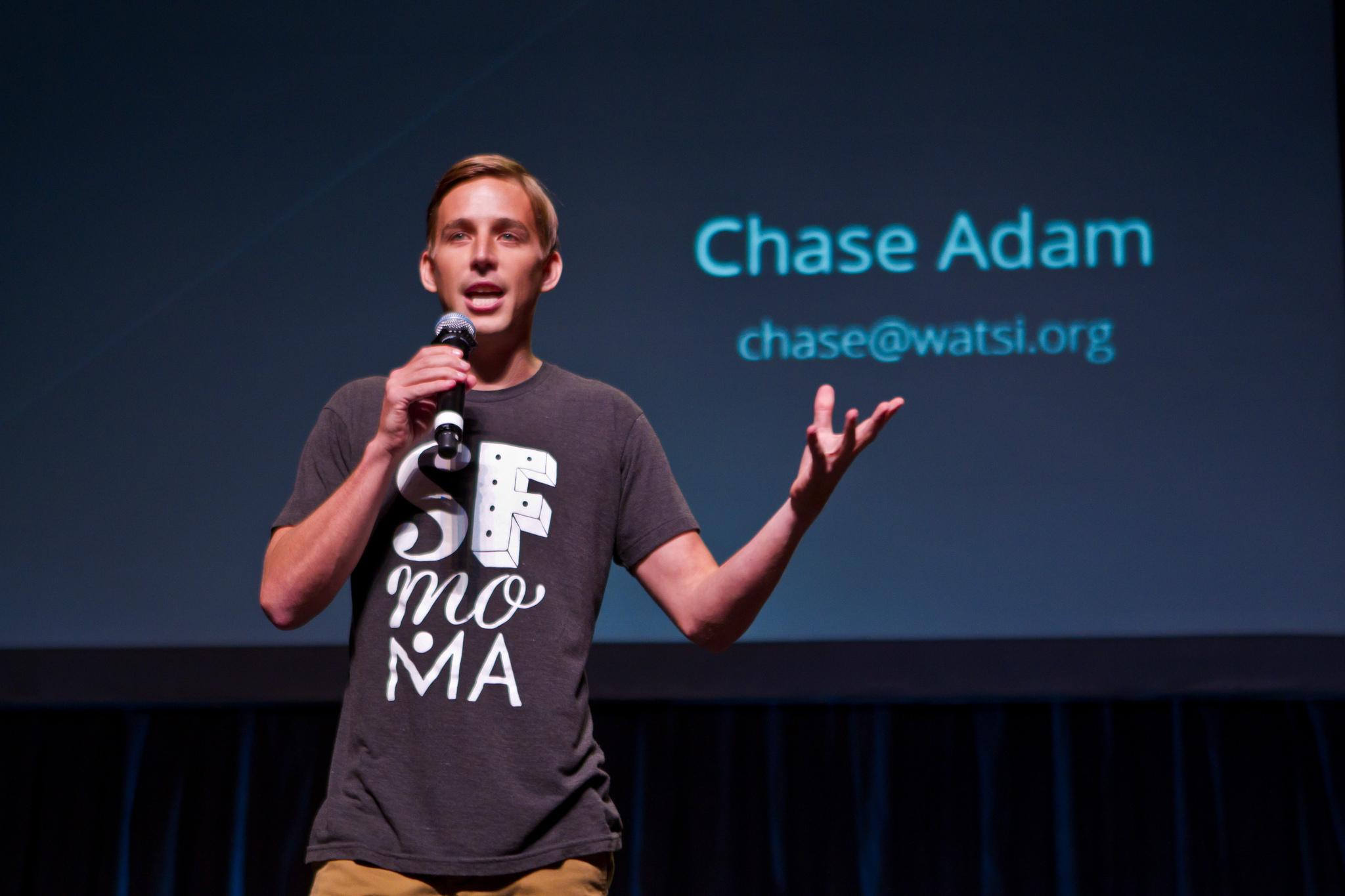 Watsi CEO Chase Adam at Y Combinator Startup School 2013