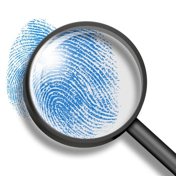 thumbprint magnifying glass
