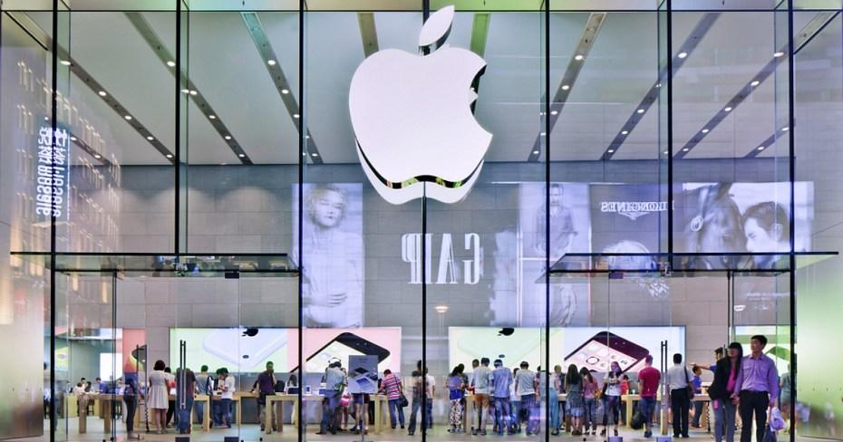 Apple's Shanghai flagship store. Shutterstock / TonyV3112