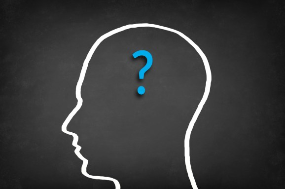 head question mark