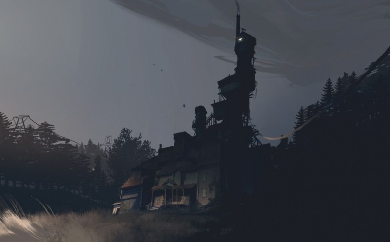 The Finch house in What Remains of Edith Finch.