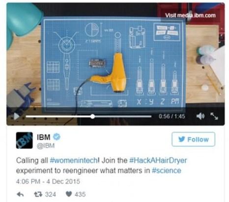 IBM Hack a Hair Dryer