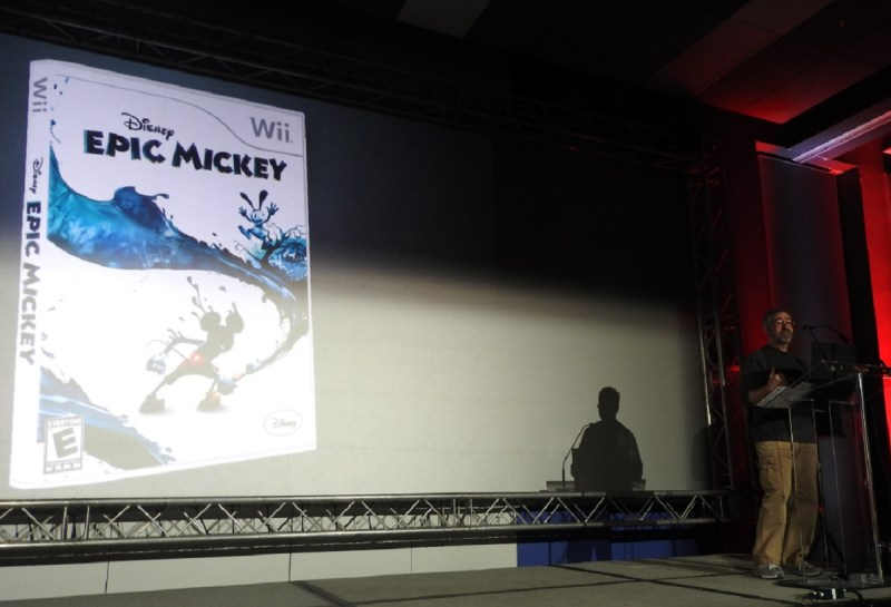 Warren Spector created Disney Epic Mickey while at Disney's Junction Moon Studios.