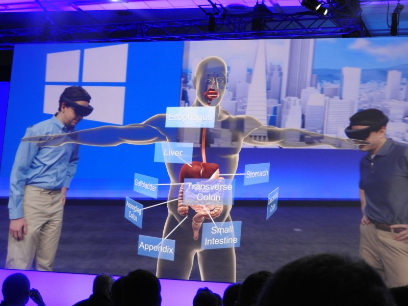 HoloLens demo from Case Western University.