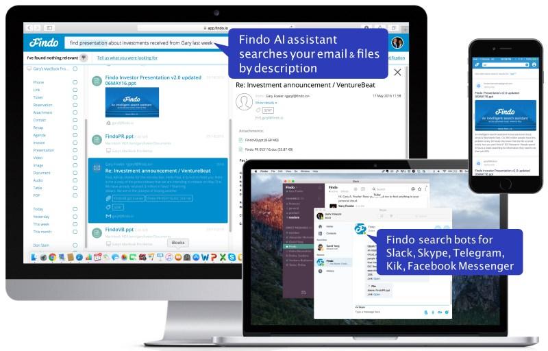 Findo: Across platforms