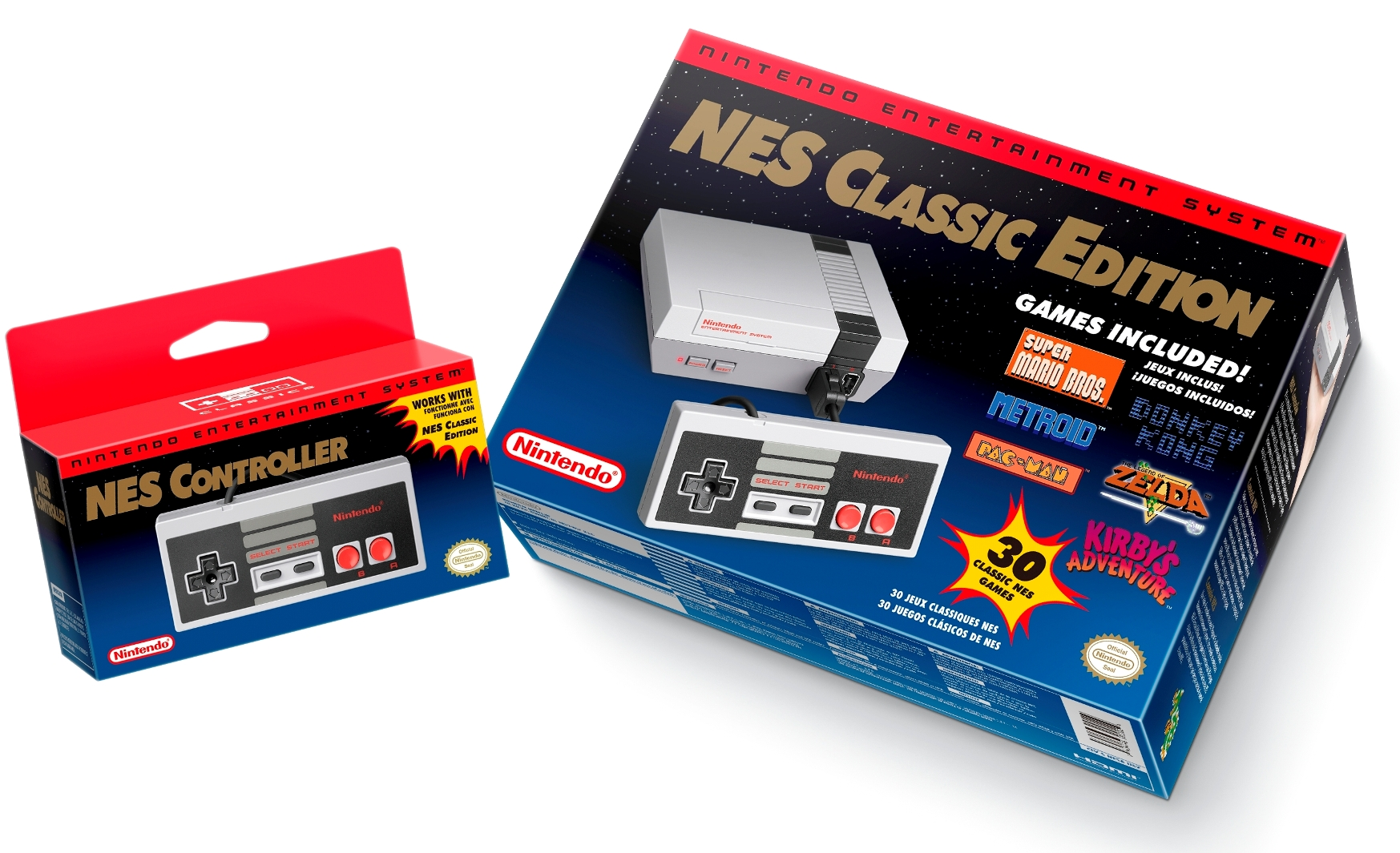 NES: Classic Edition is a tiny gaming bundle.