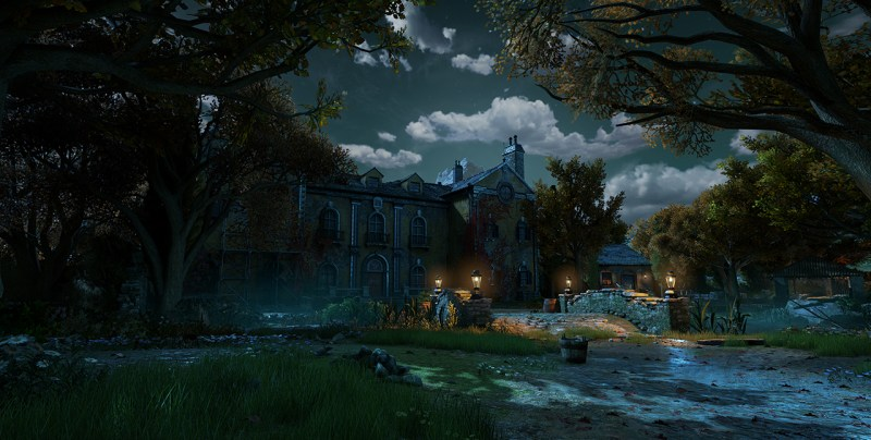 Life on the peaceful farm in Gears of War 4.