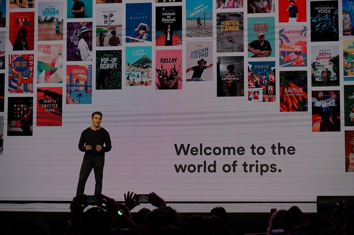 Airbnb chief executive Brian Chesky speaks about the company's expansion into being your trip concierge.