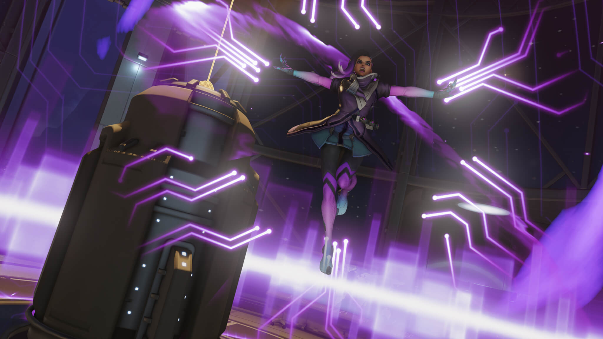 Sombra seems like a powerful and interesting new character.