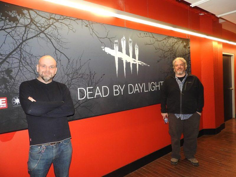 Behaviour Interactive executives David Osborne (left) and Stephen Mulrooney.