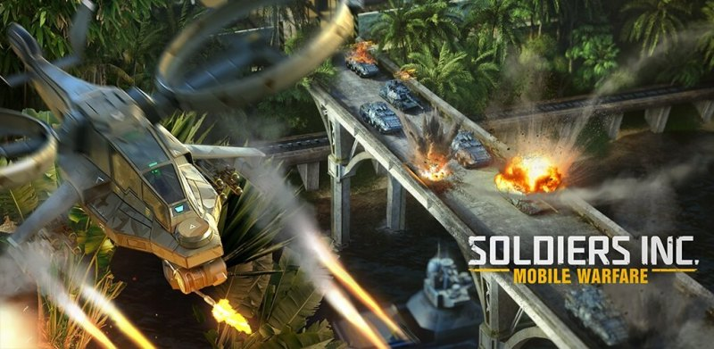 Soldiers Inc: Mobile Warfare is an MMO strategy game.
