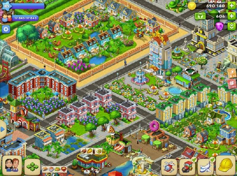 Township is one of the games that has pushed Playrix to No. 2 in Europe's mobile game market.