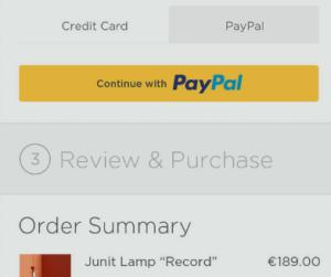 PayPal: Squarespace