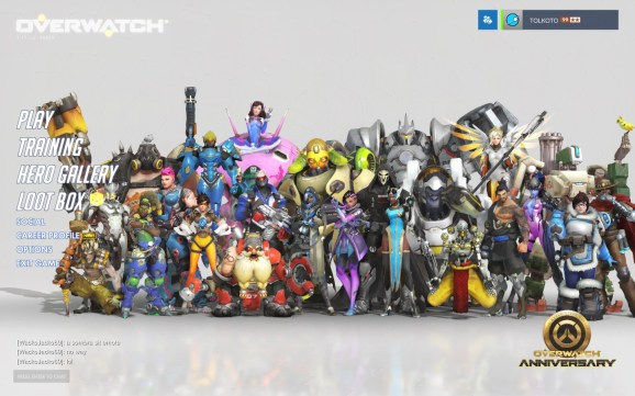 Overwatch Celebrates Its 2nd Birthday With New Cosmetics Map And A Free Weekend VentureBeat